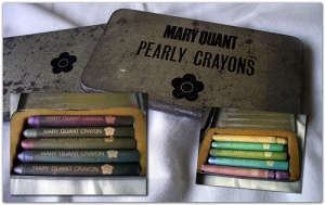 mary quant vintage crayons