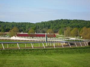 Sagamore Farm's training track