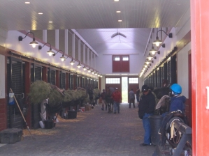 Sagamore Farm's Training Barn