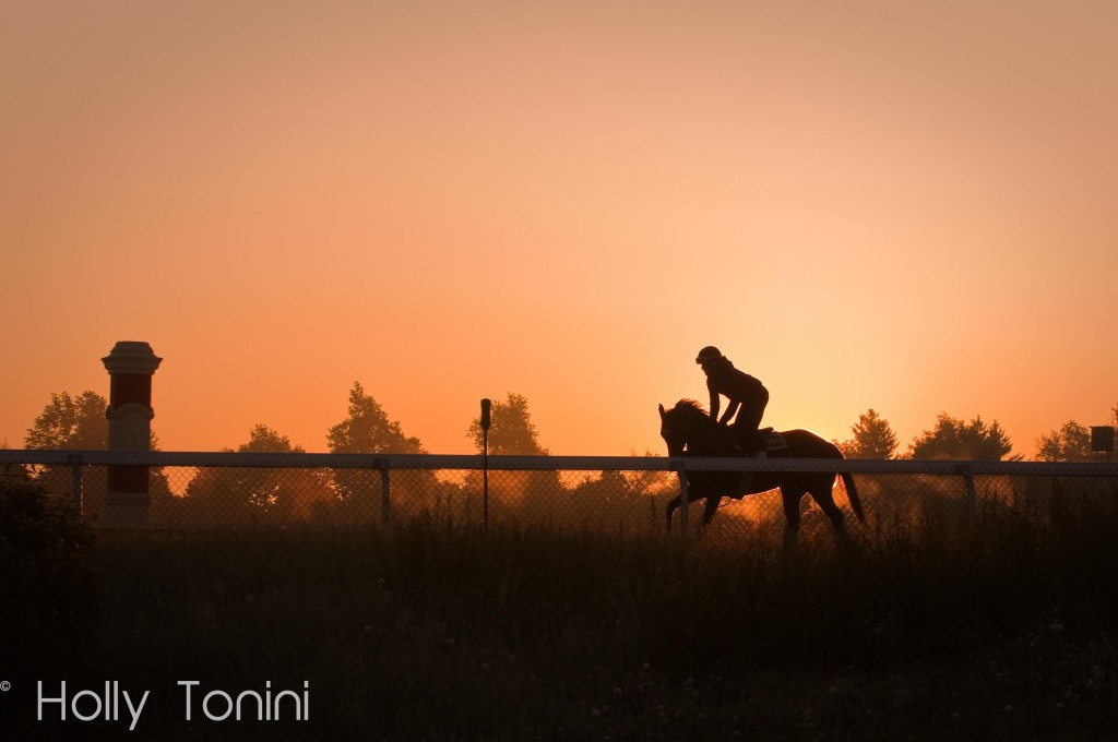 Keeneland at Sunrise